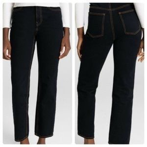 NWT A.L.C. Black Malone High Waisted Jeans